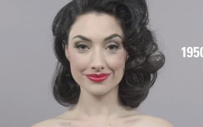 100 ans de beauté féminine