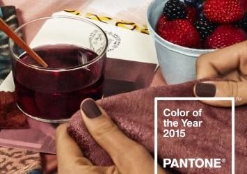 Pantone : Marsala, la couleur de l'année !