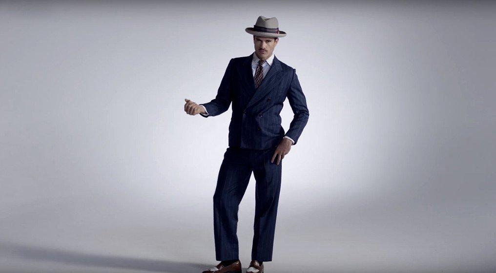 Mode : 100 ans de mode masculine en 3 minutes